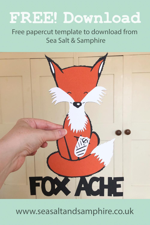 Fox ache papercut